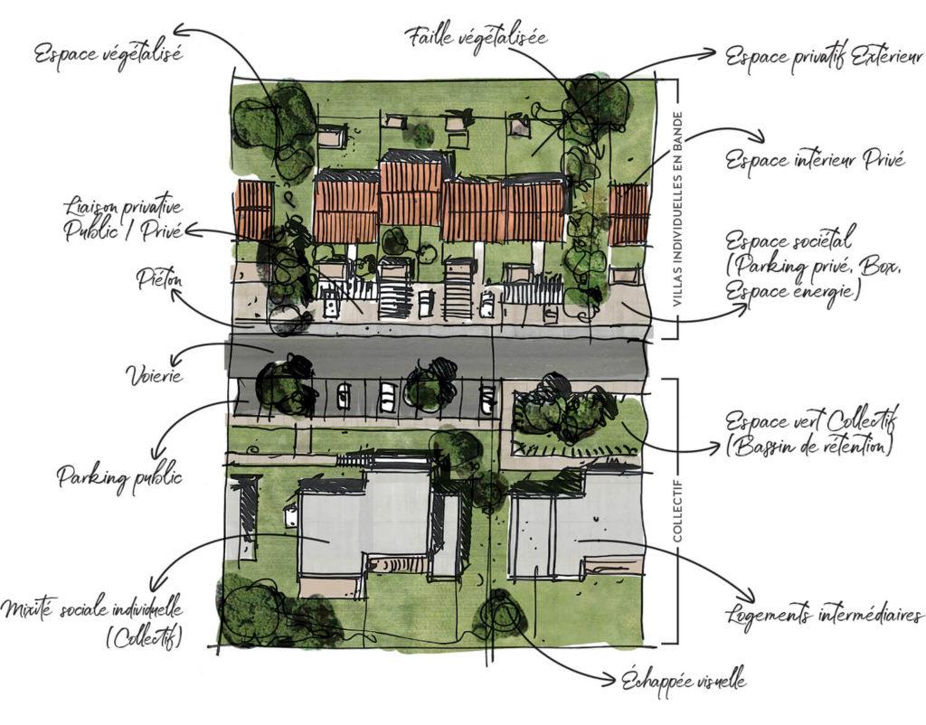 éocène habitat gestion de l'espace maitrisé